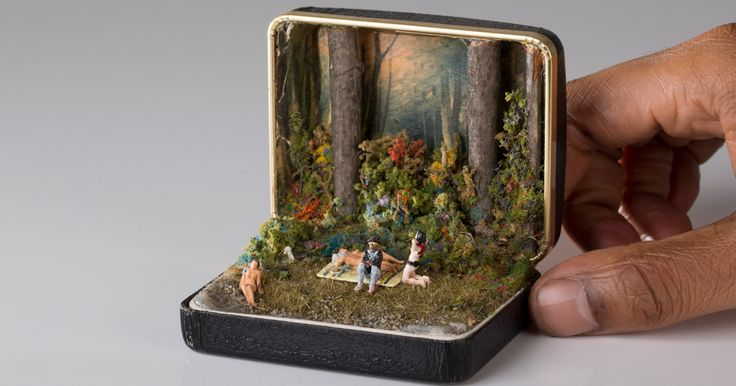 Vintage Ring Boxes Turned Into Detailed Historical Dioramas By Talwst | Bored Panda