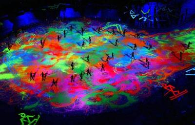 Wildfire Paints - Winter Olympics Closing Cermonies 2