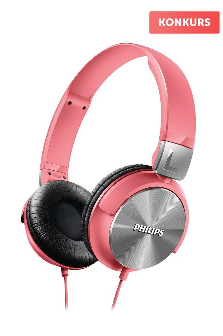 Słuchawki Słuchawki  - Philips - Słuchawki SHL3160PK/00