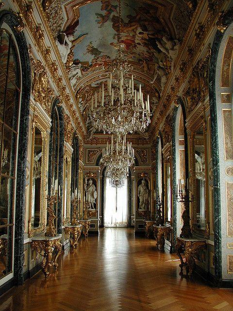 Schloss Herrenchiemsee (Herrenchiemsee Palace), Herreninsel, Bavaria, Germany