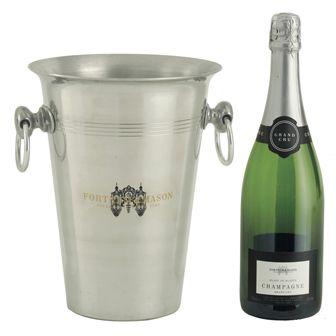 Fortnum and Mason - Blanc de Blancs Champagne & Ice Bucket