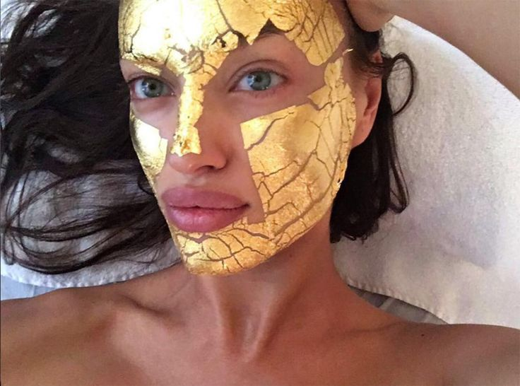 DIY Gold Face Mask: Blogger Created A $20 Version Of The Victoria's Secret Angels' $300 Gold Face Mask   Allure