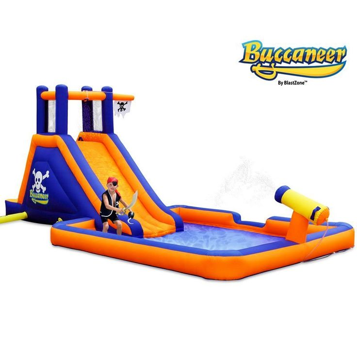 Buccaneer Inflatable Water Park by Blast Zone