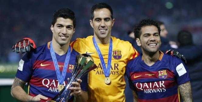 Foot - CHL - Claudio Bravo (FC Barcelone) élu sportif chilien de l'année