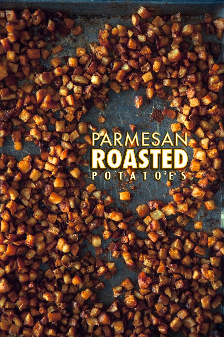 Hands down the BEST Parmesan Roasted Potatoes ever