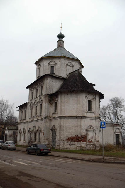 Церковь Бориса и Глеба  1760 г.  Местонахождение - Тверь