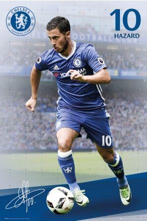 Chelsea Hazard 16/17 Maxi Poster