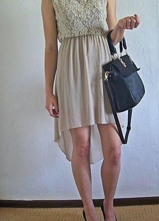 Kup mój przedmiot na #Vinted http://www.vinted.pl/damska-odziez/inne/8926954-bezowa-sukienka-z-dluzszym-tylem