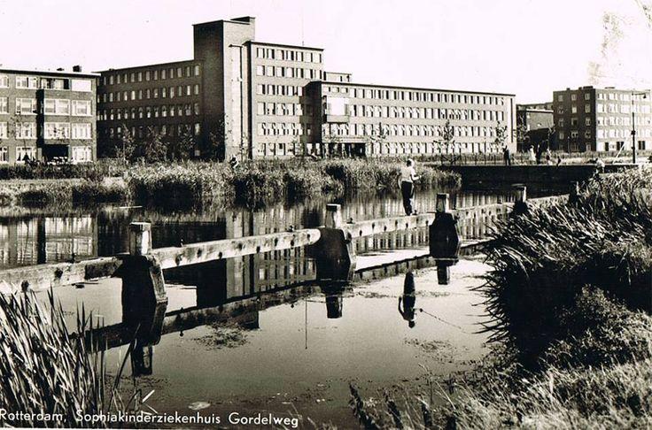 Rotterdam - Gordelweg, Sophia Kinderziekenhuis Hee wat leuk hier ben ik geboren!
