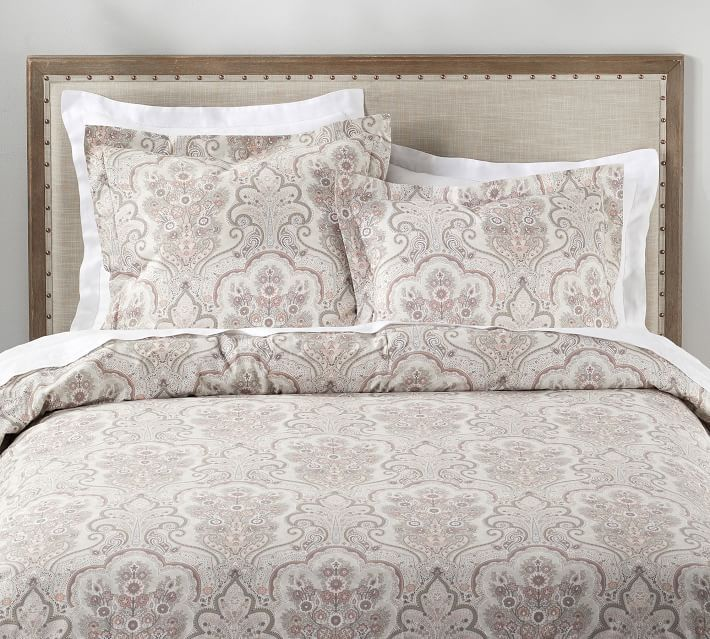 Jordana Duvet Cover Amp Shams Neutral Organic Cotton