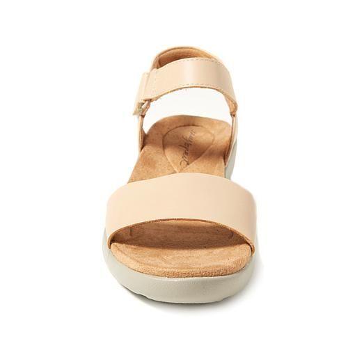 Easy Spirit Kaymee Comfort Sandal - Ivory/Off White