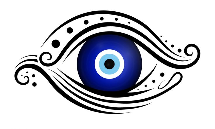 Nazar boncuğu (turkish/greek amulet against the evil eye)