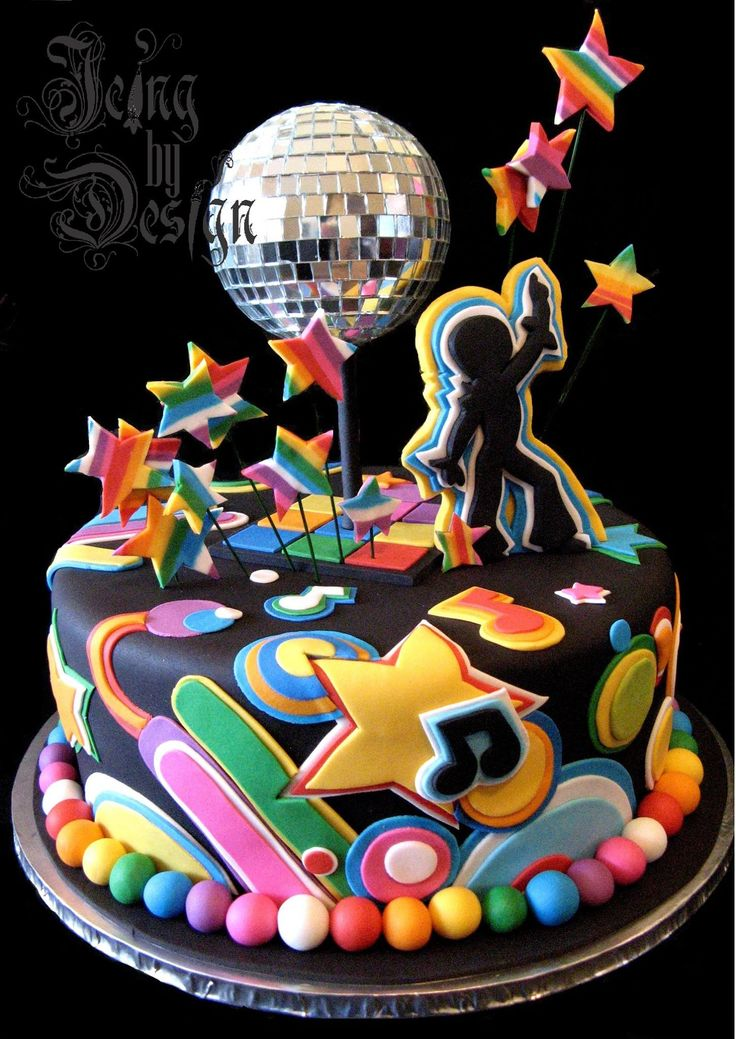 Disco Party Cake Images : 25+ Best Ideas about 70 Birthday Cake on Pinterest 70th ...