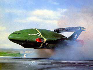 Thunderbird 2 - Thunderbirds, ITV 1965-1966