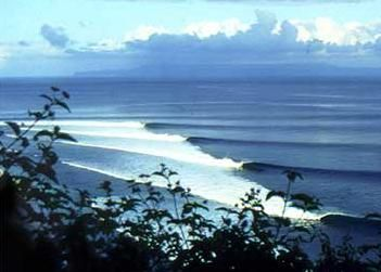 Desert Point, Lombok, Indonesia.  Amazing to watch it come to life as the tide drops... one of the world's best lefts.