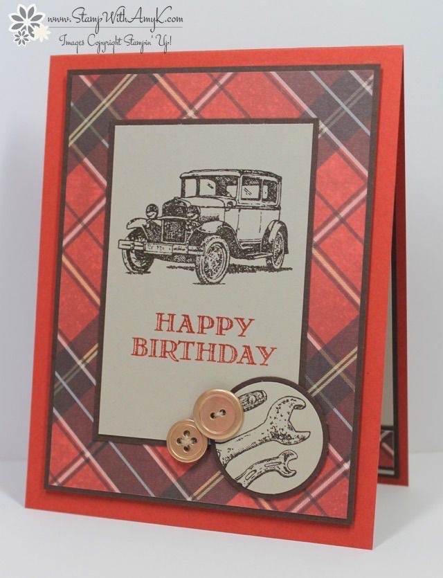 300 best guy greetings stampin up images on pinterest man card stampin up guy greetings happy birthday mens birthday cardsmasculine bookmarktalkfo Choice Image