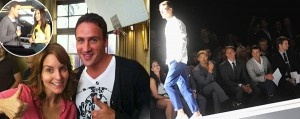 Ryan Lochte is back out flitting around fashion week with some male buddies, and he's leaning towards Barack Obama, just filmed Tina Fey's 30 Rock and now contemplating a move to New York City as any fashionista's dream come true. Ryan Lochte's not letting The Bachelor dismissing him from their