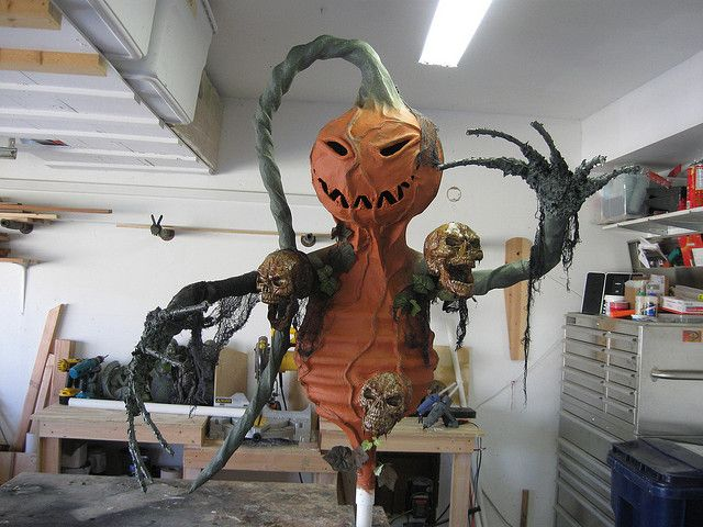 1966 best halloween props and decorations images on for Pumpkinrot tutorial