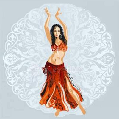 BeLLy Dancer Cross Stitch Pattern***L@@K***