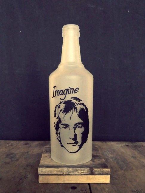 The legend... Bottle lamp