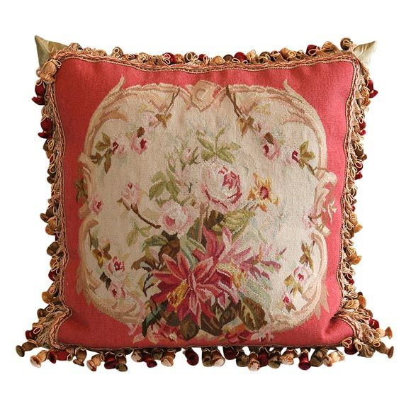 Aubusson Pillow Modern Antiques And Furniture
