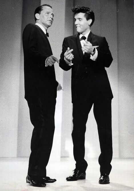 Frank Sinatra e Elvis Presley