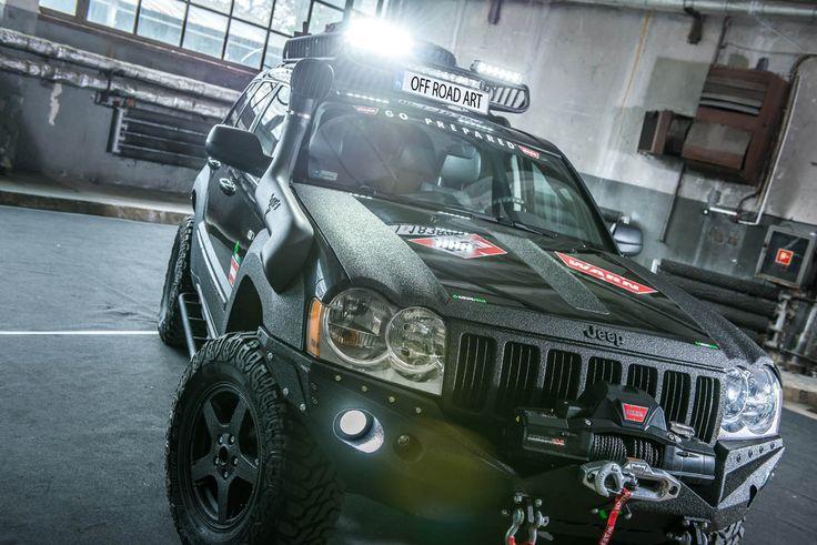 Metalpasja Innowacyjne doposażenia offroad | Jeep Grand Cherokee WK lift 4