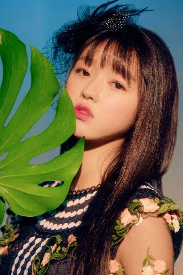 Oh My Girl Release More Individual Teaser Images For Banana Allergy Monkey My Girl Girl Kpop Girl Groups