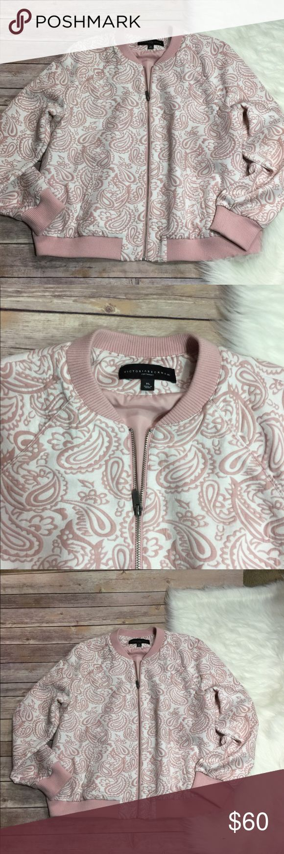 Victoria Beckham Jacket Euc floral jacket Victoria Beckham for Target Jackets & Coats