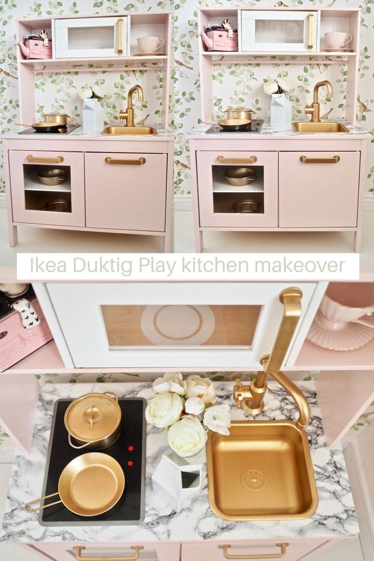 ikea duktig play kitchen makeover my little girl. Black Bedroom Furniture Sets. Home Design Ideas