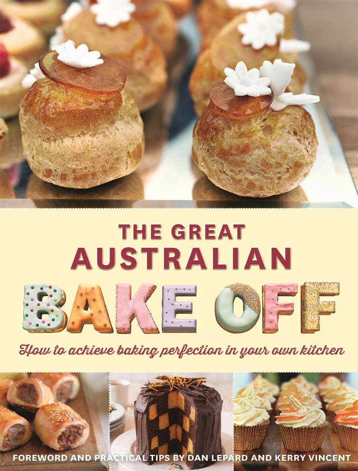 The Great Australian Bake Off - Book