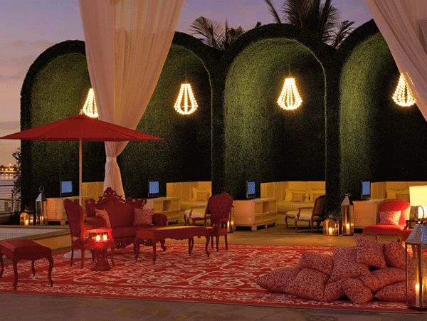 Mondrian Hotel, Miami.  Incredible.