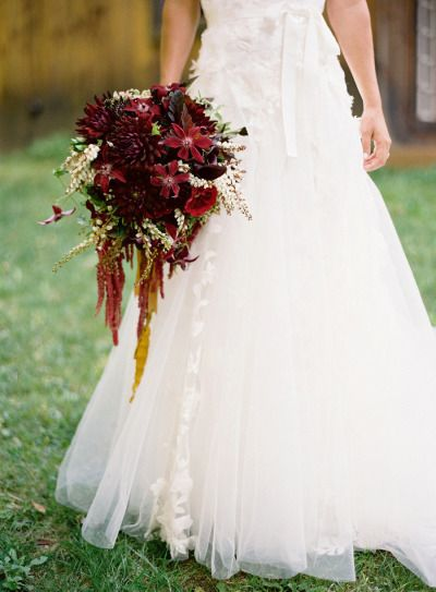 The perfect fall bouquet: http://www.stylemepretty.com/2013/05/23/vermont-wedding-from-jose-villa/ | Photography: Jose Villa - http://josevilla.com/
