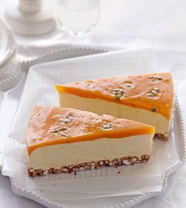 Smoothie-Cheesecake - Kühlschrankkuchen: Kuchen ohne Backen - [LIVING AT HOME]