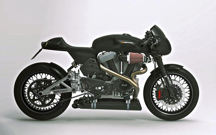Bott Design: Buell Cafe Racer concept