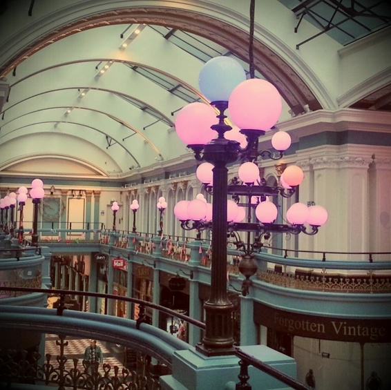 Light Warehouse Birmingham: Our New Christmas Lighting At Great Western Arcade