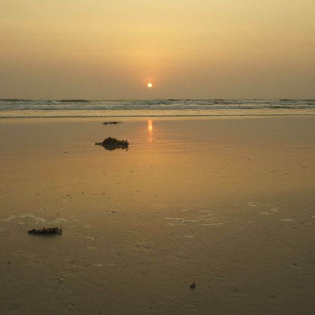 Benaulim Beach Sunset