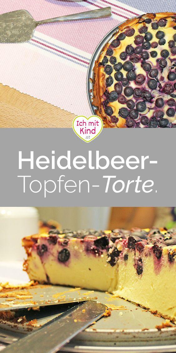 Heidelbeer-Topfen-Torte