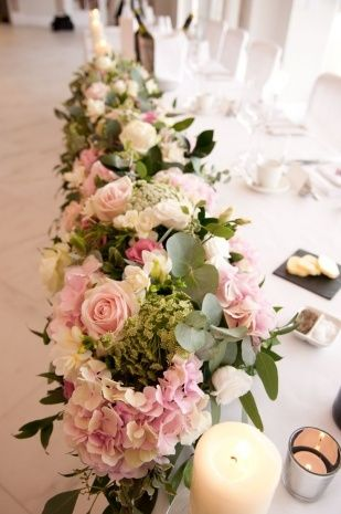 Table Flowers For Weddings