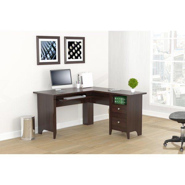 Keira L Shaped Computer Desk Computer Desk Desk Desk With Keyboard Tray