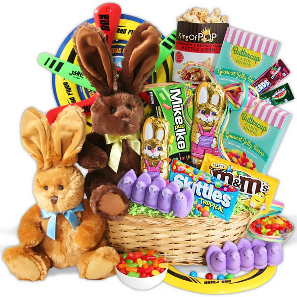 13 best whats in your easter basket images on pinterest easter double bunny easter basket negle Choice Image