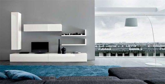 Minimalistické obývací pokoje 15