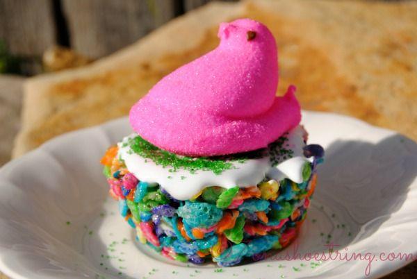 Peeps Marshmallow Treats for Easter