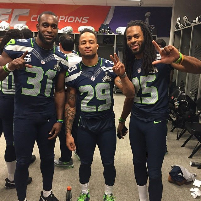 Kam Chancellor, Earl Thomas III & Richard Sherman