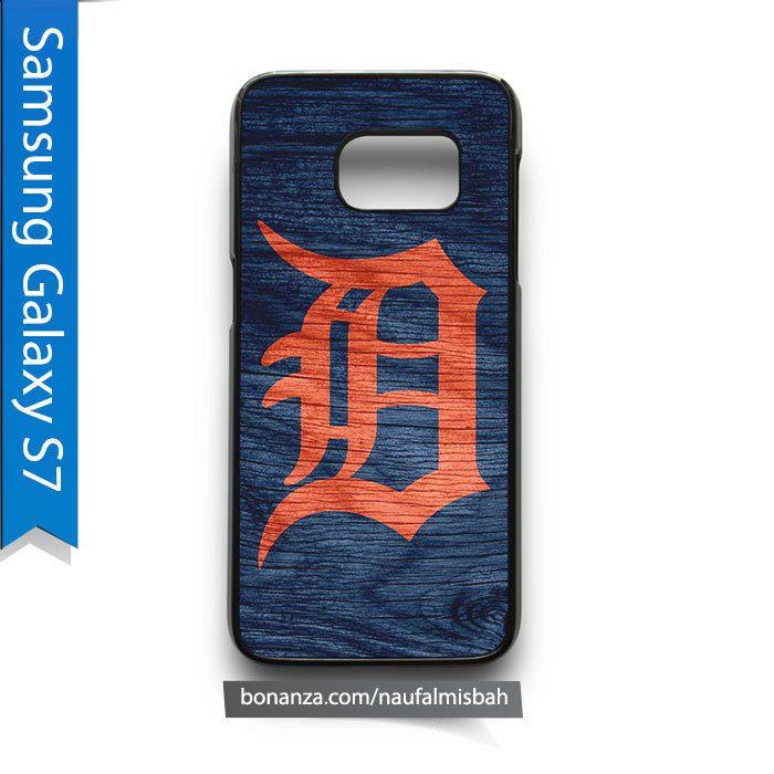 Detroit Tigers Custom #2 Samsung Galaxy S7 Case Cover