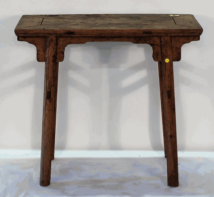 Antique Asian Furniture: Antique Chinese Side Table From Shanxi Province,  China