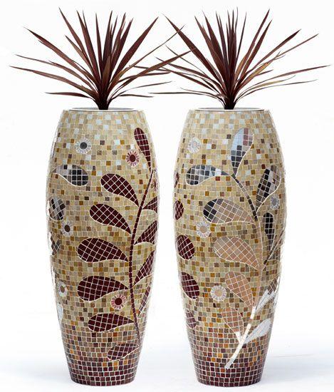 Obbligato Plant Pots - mosaic