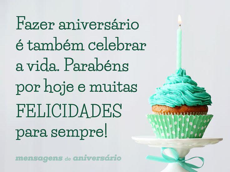 Fazer aniversário é também celebrar a vida. Parabéns por hoje e muitas felicidades para sempre! (...) https://www.mensagemaniversario.com.br/fazer-aniversario-e-celebrar-a-vida/