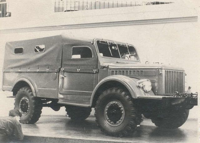 ГАЗ-62 Опытный Unusual Soviet Cars #ГАЗ #ГАЗ-62 #GAZ #GAZ-62