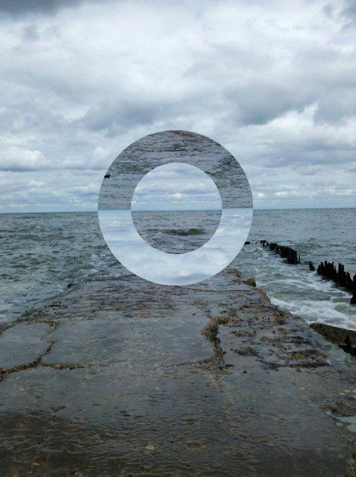 Circle on the horizon #photography #art